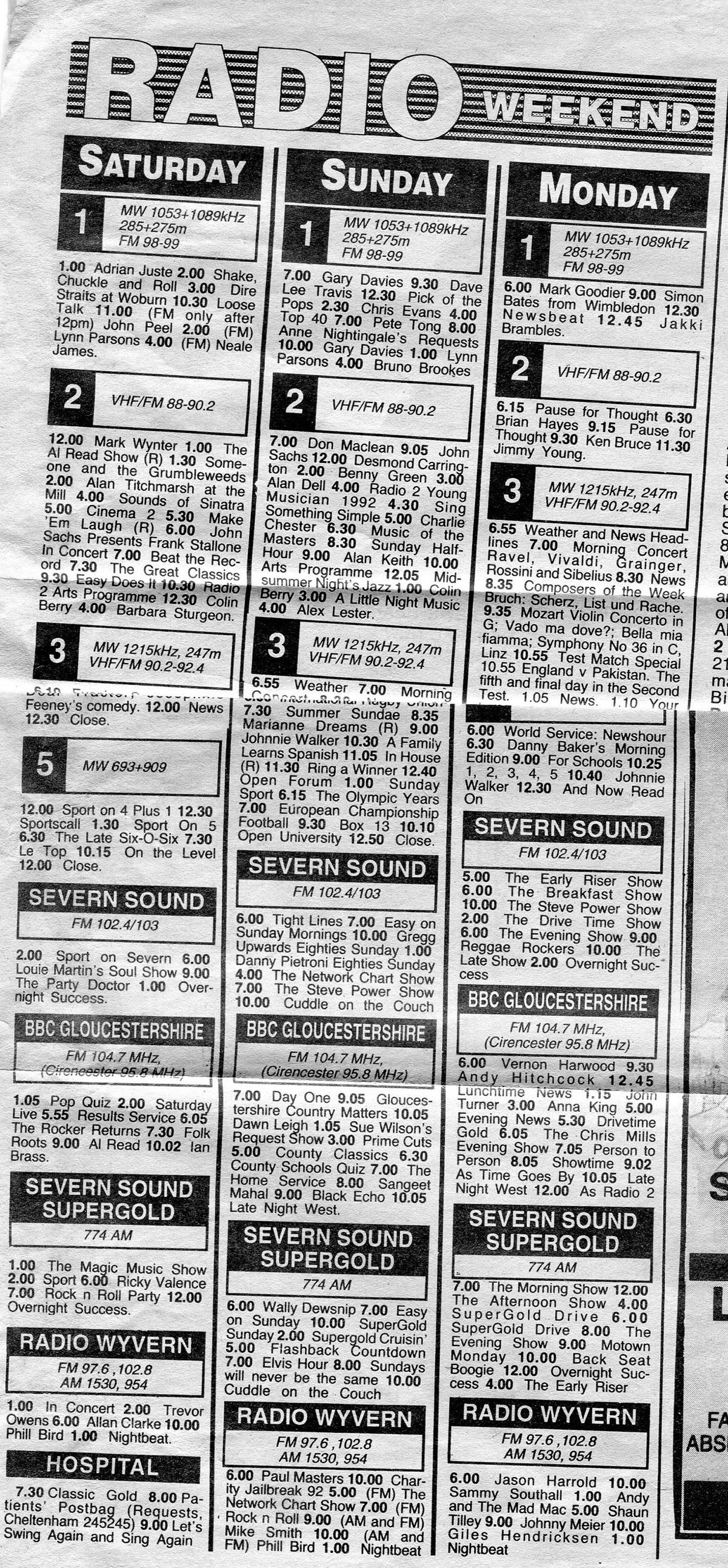 wyvern-glos-echo-prog-sched-sat-Jun-20-1992